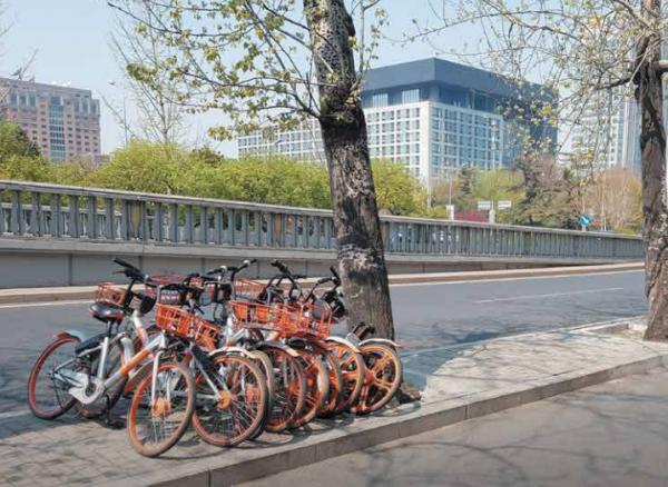 Desbordan bicis a China