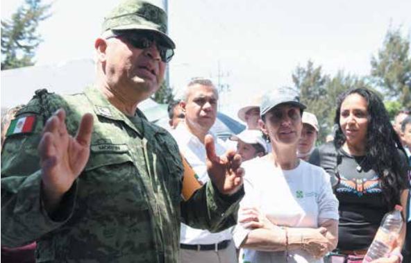 La Guardia Nacional comenzó a dar recorridos en los límites de la CDMX y el Edomex. FOTO: VÍCTOR GAHBLER