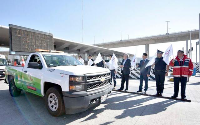 Inicia el operativo de Semana Santa en las principales carreteras del país. FOTO: ESPECIAL