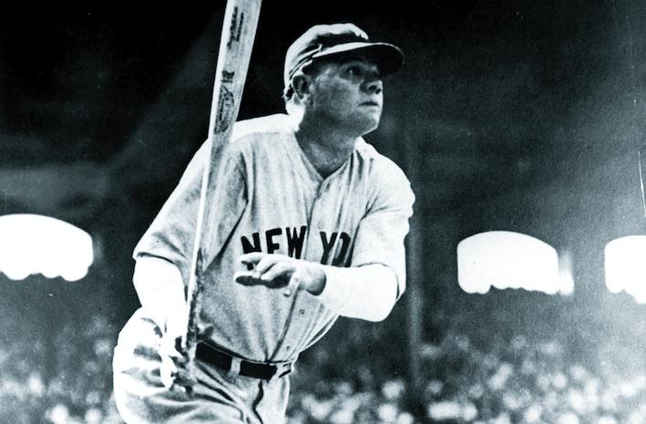 Babe Ruth, pilar del beisbol para que mantenga su actual interés mundial.FOTO:ESPECIAL