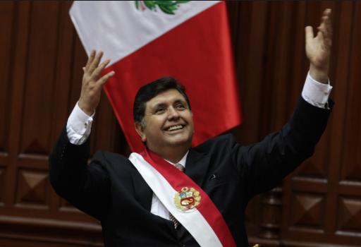 La Fiscalía peruana investigaba a García por presunto lavado de dinero, colusión y tráfico de influencias.FOTO: ESPECIAL