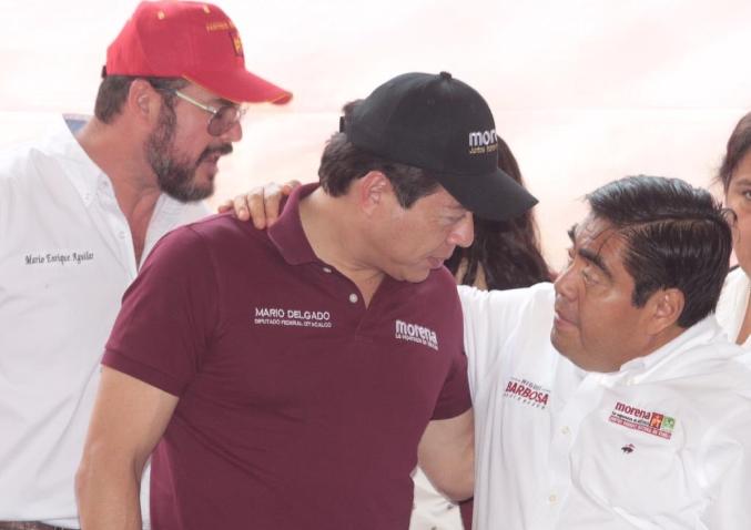 Es momento de superar cualquier conflicto para que Barbosa llegue al gobierno: Mario Delgado