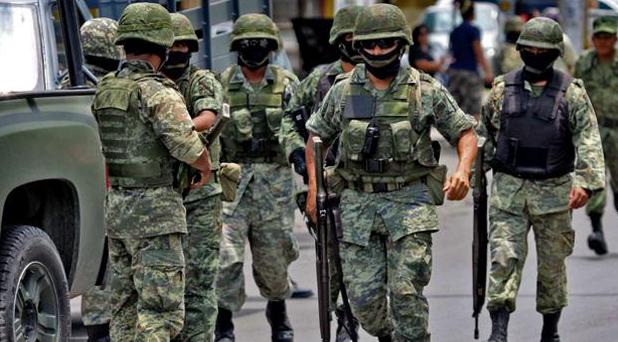 El operativo estuvo encabezado por miembros de la Secretaría de la Defensa Nacional. FOTO: ARCHIVO/ CUARTOSCURO