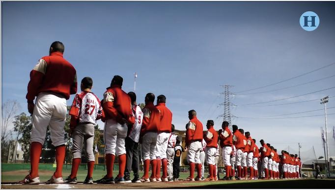 Inauguran campo de beisbol en Texcoco