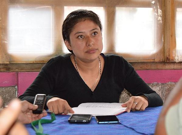 Maricela Vallejo Orea, alcaldesa de Mixtla de Altamirano fue asesinada junto con su esposo. Foto: De Twitter @NewsSanmiguel