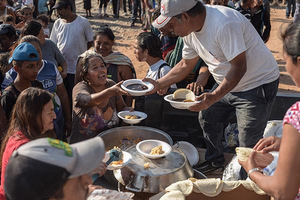 Los conflictos armados son la principal causa de la inseguridad alimentaria en el mundo.  FOTO: CUARTOSCURO