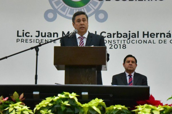 La administración de Carbajal Hernández concluyó apenas el pasado 31 de diciembre. Foto: Especial