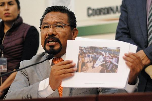 El diputado con licencia se vio involucrado en un accidente vial en Ixmiquilpan, Hidalgo, en octubre del año pasado. Foto: Cuartoscuro