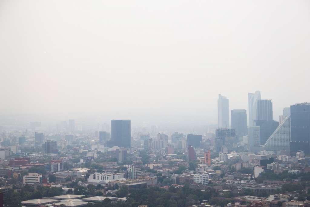 La Ciudad de México está en Contingencia Ambiental por Ozono. Foto: Cuartoscuro