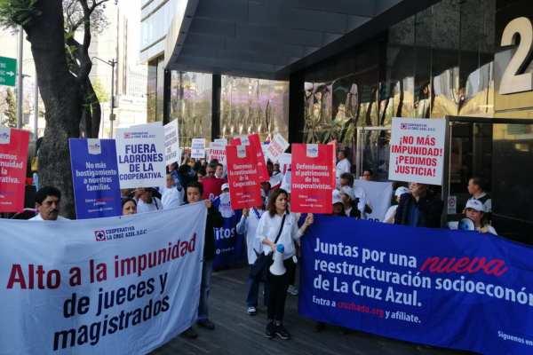 Los cooperativistas denuncian un desfalco de más de 191 millones de pesos. Foto: Alberto Aceves