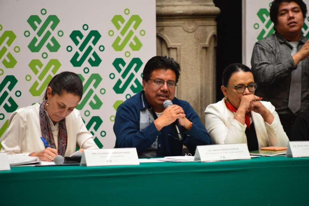Este miércoles se instaló la Primera Sesión Ordinaria de la Comisión Interinstitucional de Pueblos Indígenas de la Ciudad de México. Foto: @IMPImx