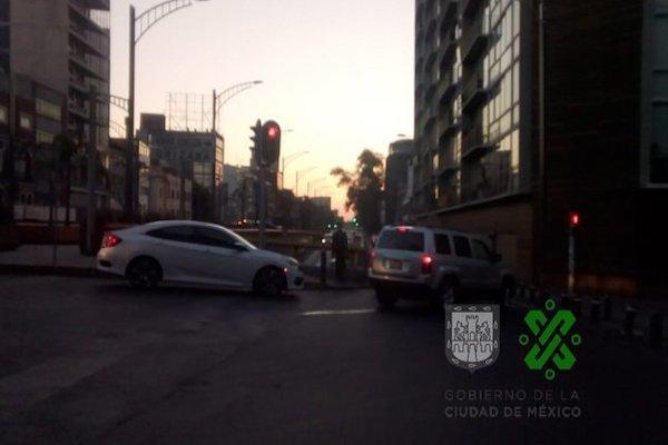 Avenida Chapultepec registra avance constante desde Insurgentes y hasta Eje 1 Poniente. Foto: OVIAL