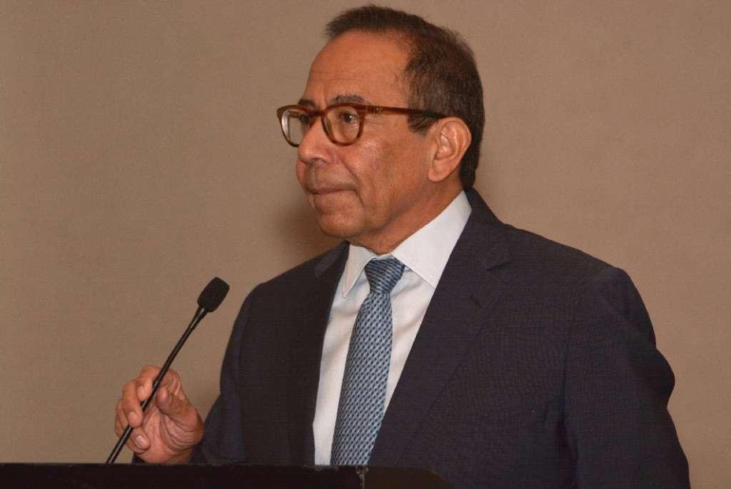 Carlos Salazar, presidente del CEE, confía en que pronto sea ratificado el T-MEC. Foto: @cceoficialmx