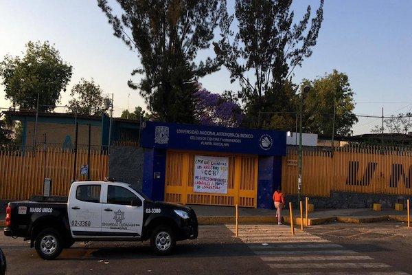 No hay actividades en los planteles Naucalpan, Oriente, Sur y Vallejo. Foto: @alertasurbanas
