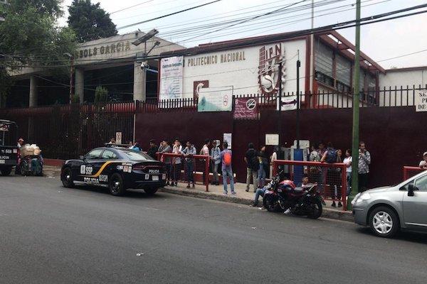 El plantel se encuentra en avenida de Las Granjas, en la alcaldía Azcapotzalco. Foto: IPN