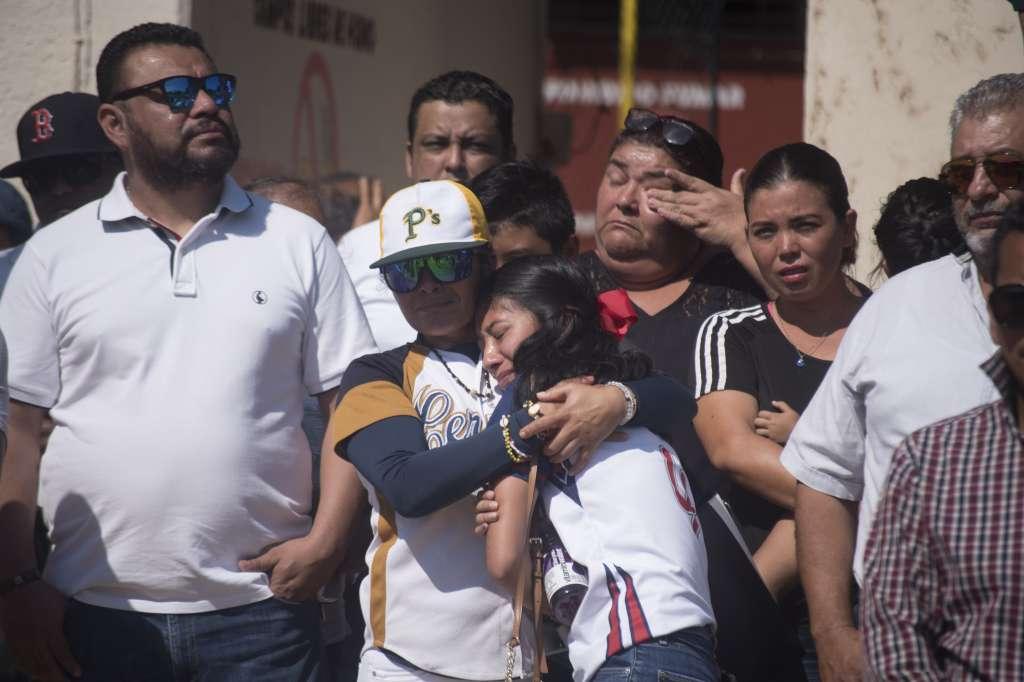 El pasado 19 de abril, sujetos armados irrumpieron en una fiesta y asesinaron a 14 personas, incluido un bebé. Foto: Cuartoscuro