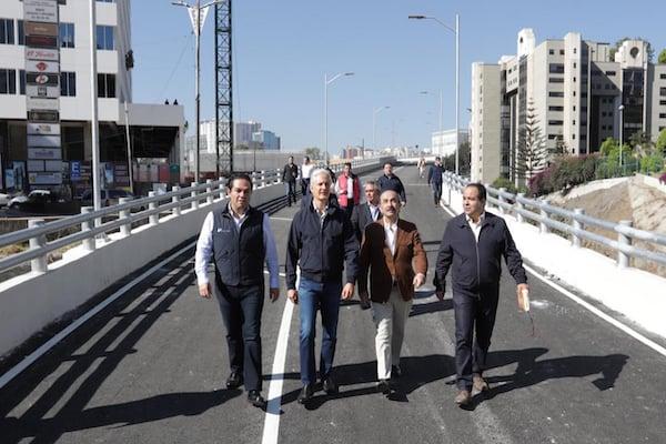 El viaducto requirió una inversión de 230 millones de pesos. Foto: Especial
