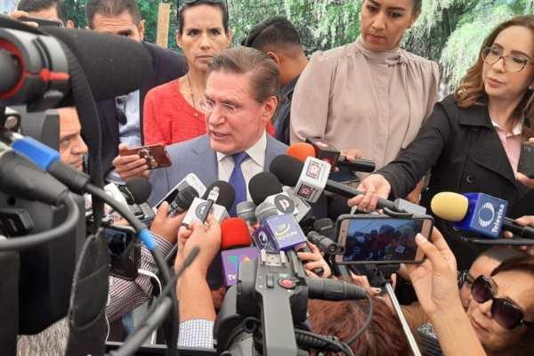 Rosas Aispuro aseguró que tiene mucho comercio con EU. Foto: Especial