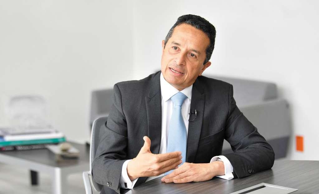 Carlos Joaquín González, gobernador de Quintana Roo. FOTO: FOTO: NAYELI CRUZ