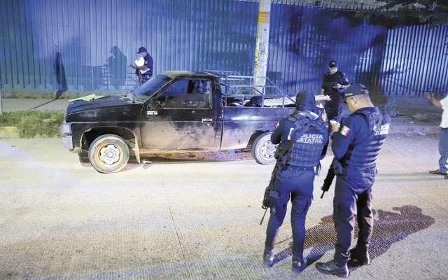 COMBATE. Policías estatales trabajan para reducir los índices de violencia. Foto: Cuartoscuro