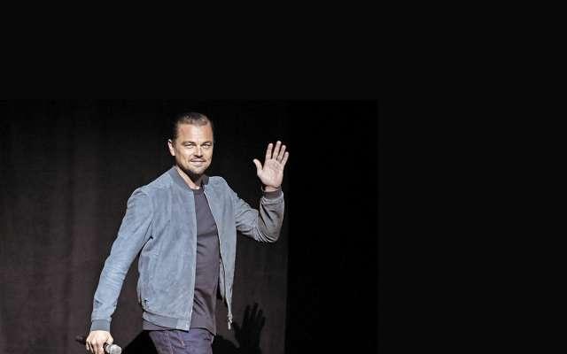 Leonardo DiCaprio, a cast member in the upcoming film