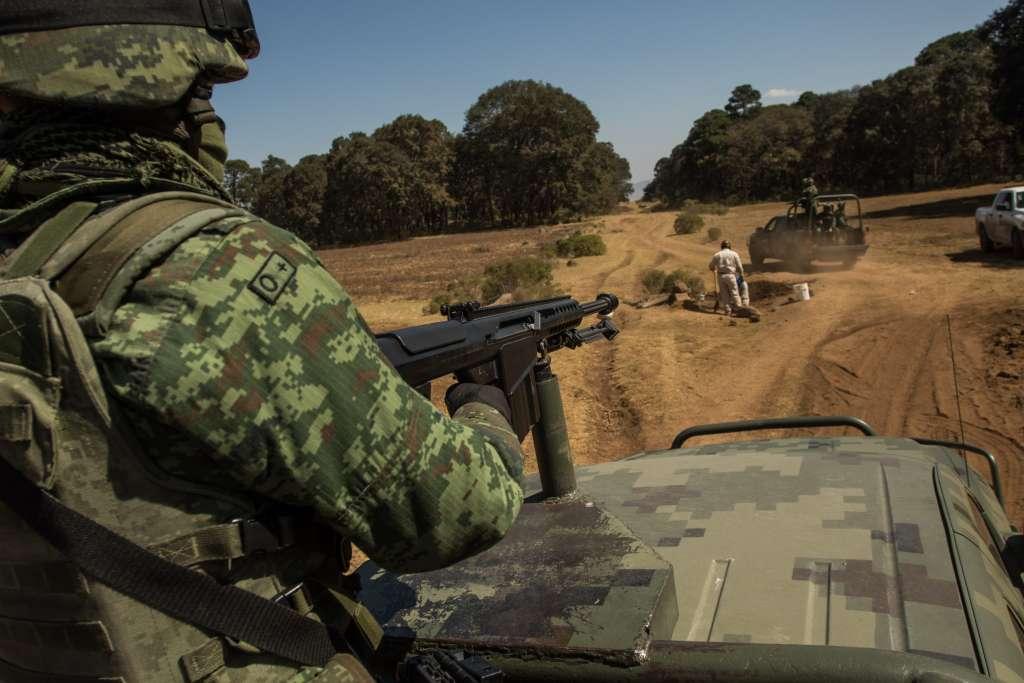 Por el operativo ninguno de los uniformados resultó herido. Foto: Cuartoscuro