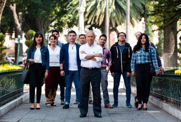 Enrique Cárdenas aceptó acudir a exponer sus propuestas ante la comunidad de esa casa de estudios. FOTO: @ECardenasSan