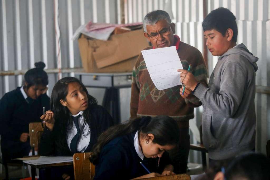 Los profesores piden que la transformación de la educación tenga en el centro los derechos de alumnos, maestros y padres de familia. Foto: Cuartoscuro