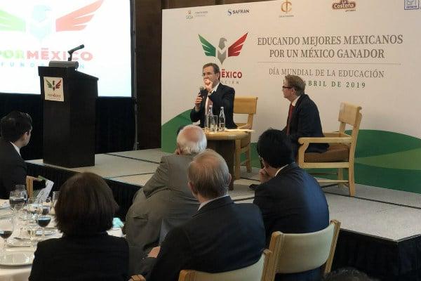 """Moctezuma Barragán consideró que la falta de un acuerdo con la Coordinadora Nacional de Trabajadores de la Educación (CNTE) se debe a que """"todo el magisterio está muy dolido por lo sucedido con la anterior reforma educativa"""""""