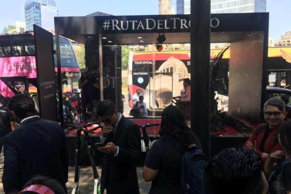 Los fans salieron de Puebla desde las 6 am y llegaron a las 10 am a la Capital. Foto: Omar Tinoco