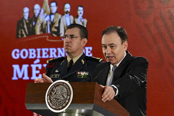 La Guardia Nacional será comandada por Luis Rodríguez Bucio. FOTO: ESPECIAL