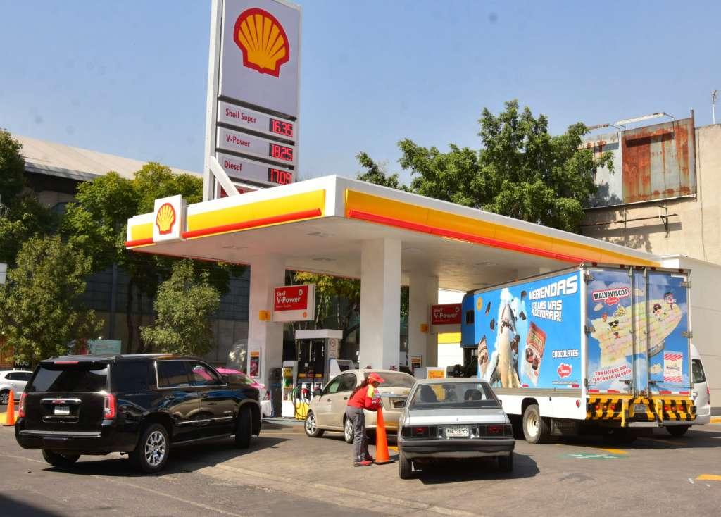 Aspectos de gasolineras Shell México FOTO:CUARTOSCURO