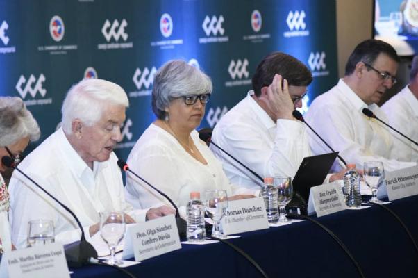 Graciela Márquez Colín, habló con Robert Lighthizer, representante comercial de Estados Unidos analizaron el reporte sobre el impacto que tendría en EU el nuevo acuerdo comercial