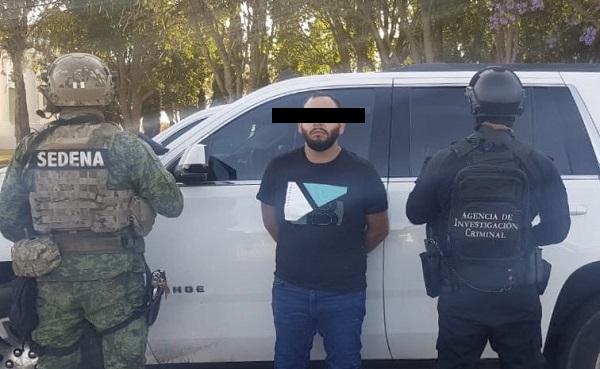 Adrián Alonso Guerrero Covarrubias es ahijado del líder de Nemesio Oseguera Cervantes,