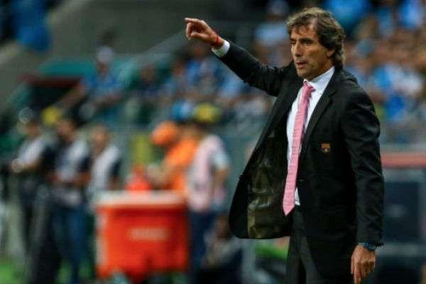 El técnico fue campeón con el Barcelona de Guayaquil. FOTO: ESPECIAL