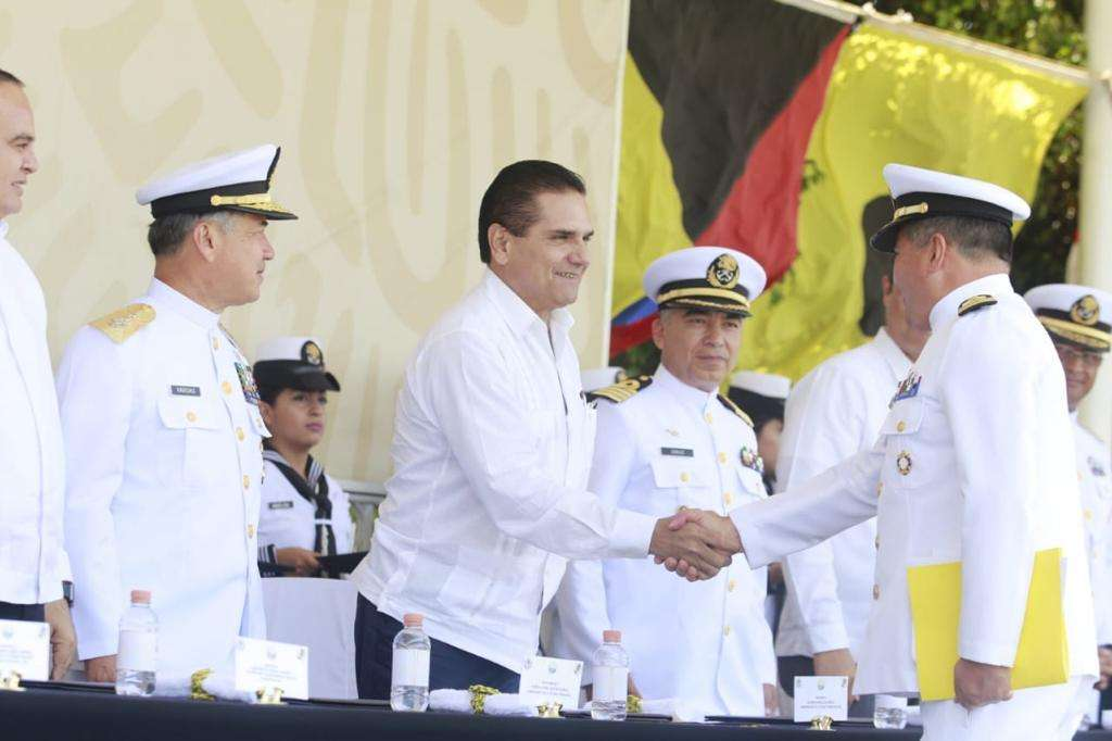 El mandatario michoacano, aseguró que el estado está listo para sumarse a la Estrategia Nacional de Seguridad. Foto: Especial