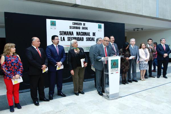 Méndez participó junto con la Directora de Incorporación y Recaudación del Instituto, Norma Gabriela López, en la Semana Nacional de la Seguridad 2019 en la Cámara de Diputados