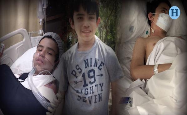"""El adolescente de 14 años pidió a su mamá """"un año sin médicos"""", el tiempo se cumplió y ahora requiere de más intervenciones para aumentar sus posibilidades de vida; apóyalo donando en Donadora.mx"""