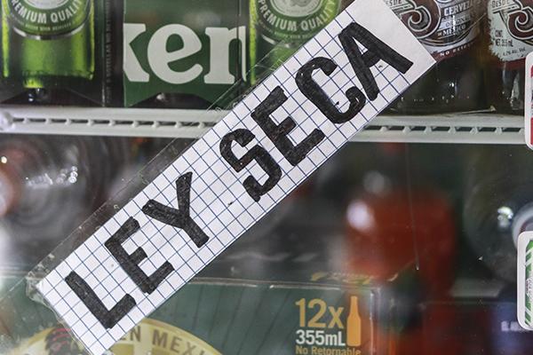 Debido a la romería se suspende la venta de alcohol. FOTO: CUARTOSCURO