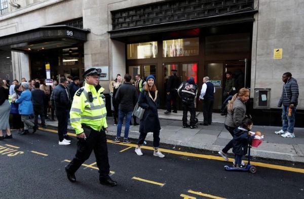 LONDRES. Cada vez hay más agresiones con cuchillo. Foto: Reuters