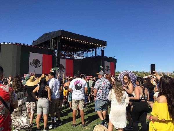 Es la primera vez que la banda se presenta en un festival de este tipo, pero la convocatoria fue muy buena, según los organizadores. Foto: Especial