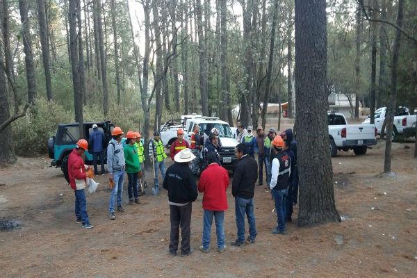 Se controló al 100 por ciento el incendio en La Malinche, registrado desde este domingo por la mañana. Foto: De Twitter @GobTlaxcala