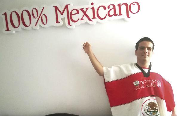 José Manuel tiene ceguera y sordera desde los ochos años. Foto:  Especial