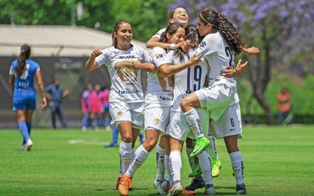 Las Pumas vencieron a Cruz Azul en la Jornada 17. FOTO: ESPECIAL