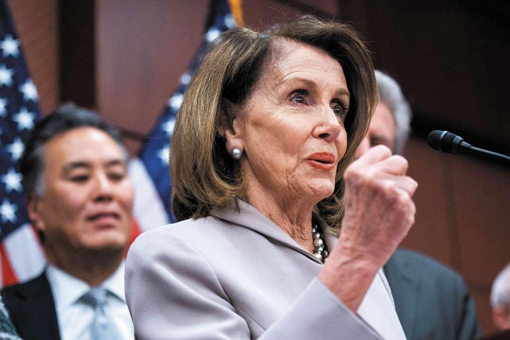 La demócrata Nancy Pelosi exigió cambios laborales en México.FOTO: EFE