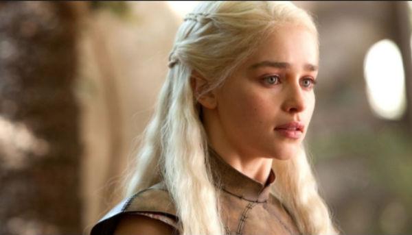 La versión de cera de Daenerys Targaryen, celebrar el inicio de la octava y última temporada de Game of Thrones. FOTO: ESPECIAL