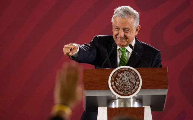 El presidente sólo había suspendido su tradicional conferencia en Navidad y Año Nuevo. Foto: Cuartoscuro