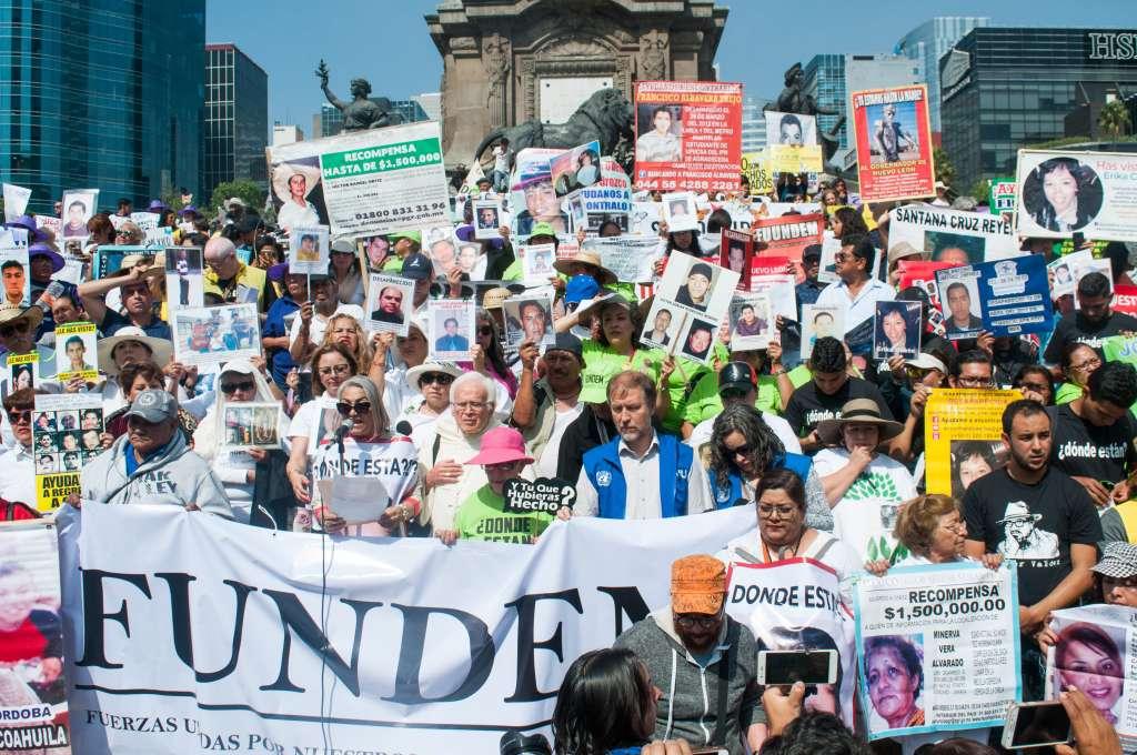 De acuerdo con el Gobierno Federal, en México hay poco más de 40 mil personas desaparecidas. Foto: Cuartoscuro