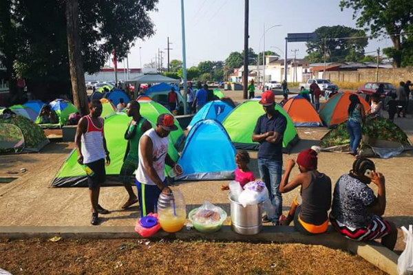 """""""No todos los migrantes vienen con buenas intenciones y se quedan en nuestra región a delinquir, sobre todo gente de la Mara Salvatrucha"""", destacó"""