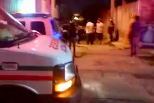 Uno de los heridos falleció en el hospital. FOTO: ESPECIAL